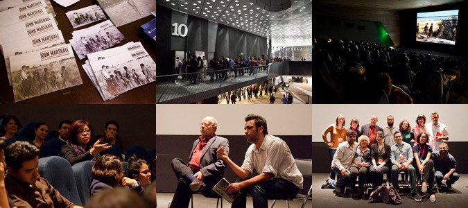 John Marshall retrospective at DocsDF in Mexico City. Photos by Francisco Palma