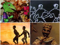 Jean-Michel Kibushi: Palabres Animées du Griot (1991-2004)
