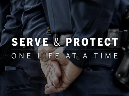 Serve & Protect by Ron Davis