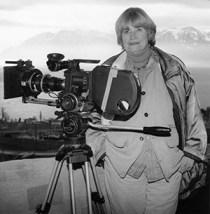 Jacqueline Veuve with Camera