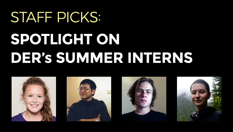 Staff Picks: DER's Summer Interns