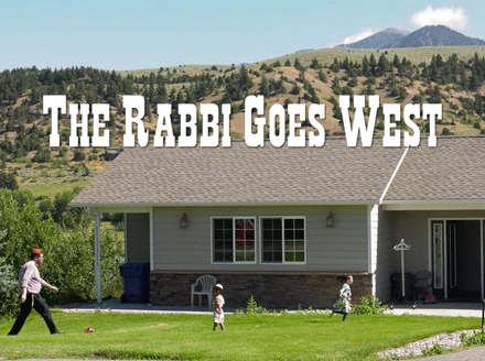 The Rabbi Goes West - Amy Geller, Gerald Peary