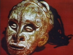 Skull Art in Papua New Guinea (1999)