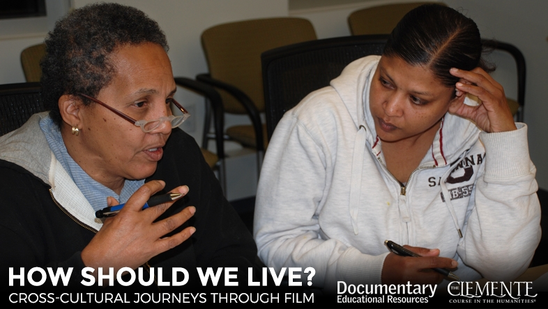 How Should We Now Live? A cross-cultural film series in partnership from DER and The Clemente Course