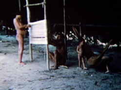 A Man and His Wife Make (1973) a Hammock (