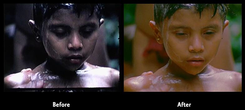 Yanomamö films preservation -
